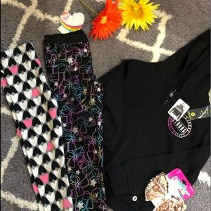 Xersion Bottoms - Girl jacket and leggings size 4/5